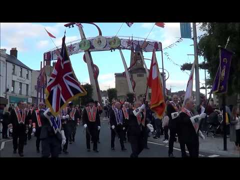 Lisburn Mini 12th & Opening of Arch Parade 1st July 2017