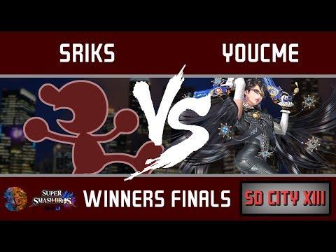 SDC XIII - Sriks (Mr. Game & Watch) vs. Bayonetta (Bayonetta, Fox) [Winners Finals]  