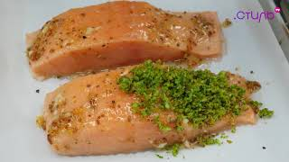"Рецепт лосося от шеф-повара ресторана ""Teatro"""