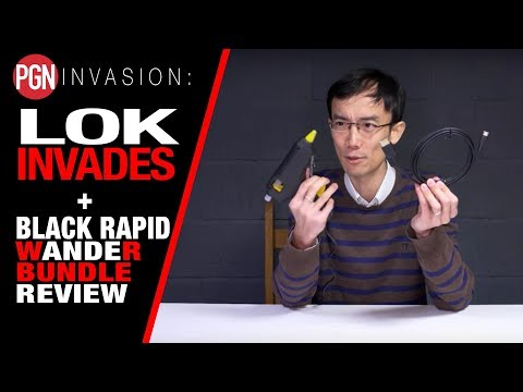 LOK CRASHES THE PGN SHED! (and Black Rapid WandeR Bundle Review)