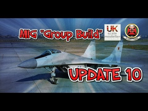 "GWH MIG-29 ""MIG Group Build"" UPDATE X"