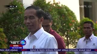 Jan Ethes Membantu Presiden Jokowi Membagikan Sembako - NET24