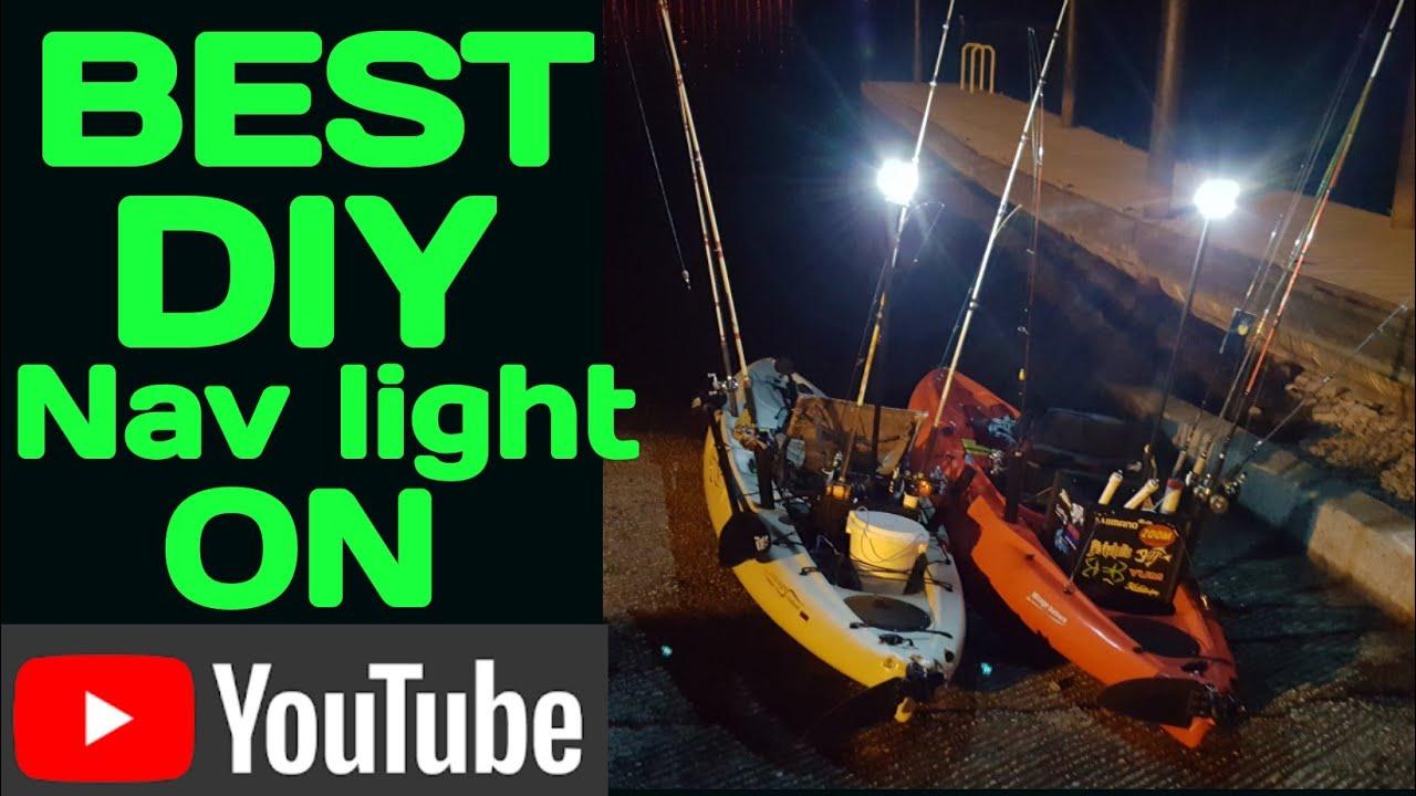 Kayak Light DIY NAV LIGHT( Very bright!!! ,,,,,Very Legal )