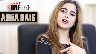 Aima Baig Is Talking About Saba Qamar, Hamza Ali Abbasi and Momina - Aima Baig | One Take