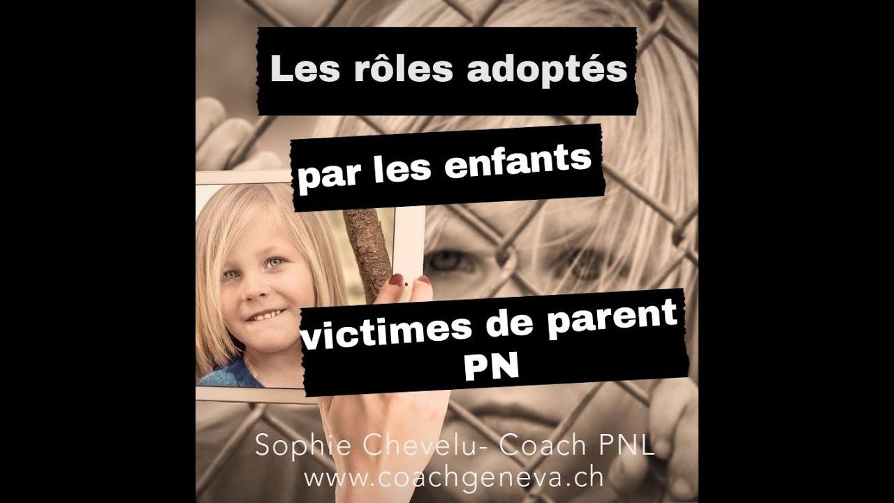 Vidéo : les rôles adoptés par les enfants victimes de parent(s) PN
