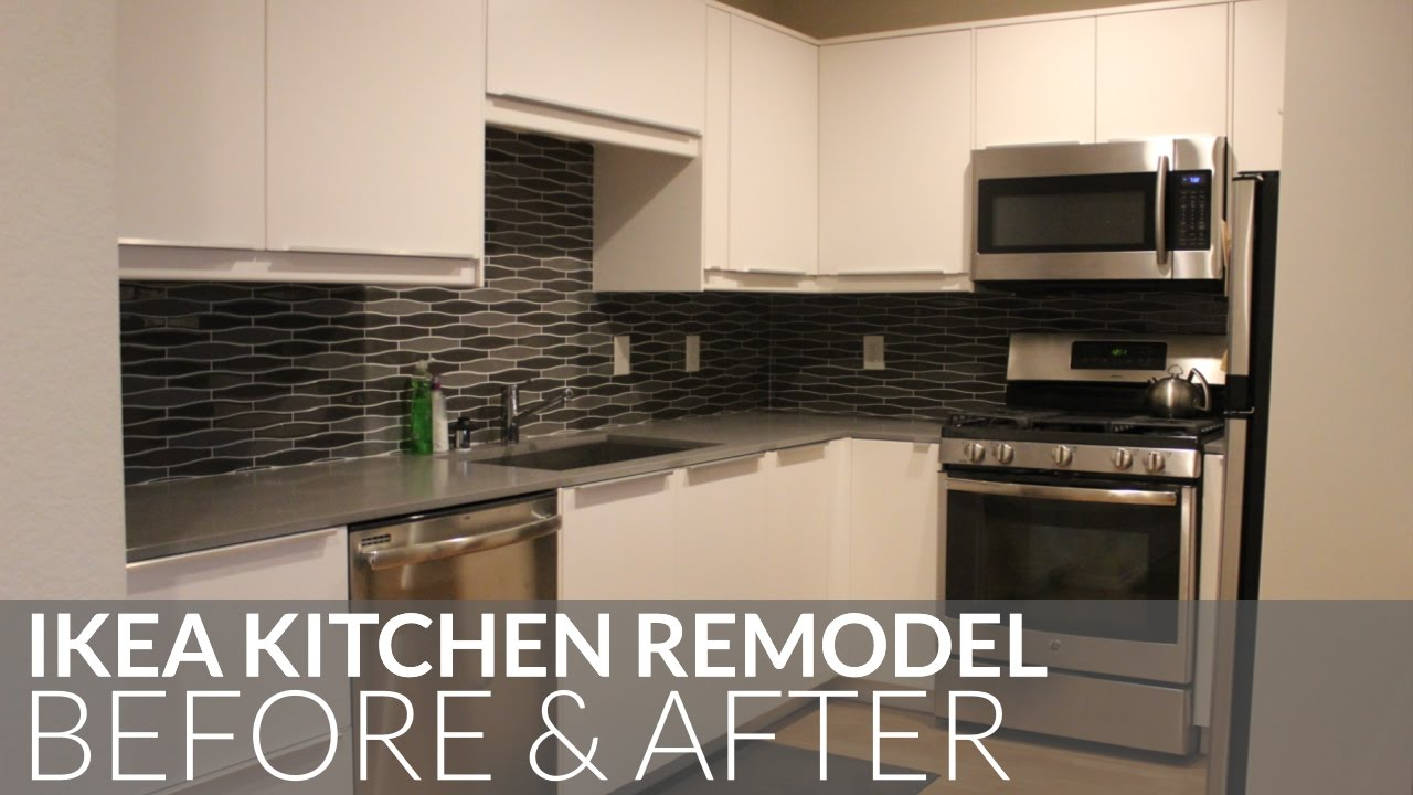 ikea kitchen remodel aid washer before after torrance ca youtube