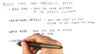 Access Time For Magnetic Disks - Georgia Tech - HPCA: Part 4