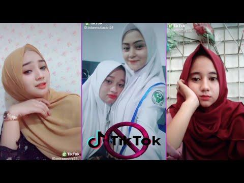 Tik Tok Dj Haning - Cewek Jilbab Cantik, Manis Dan Imut