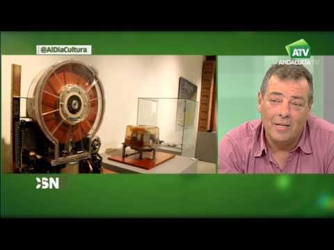 Miguel Ferrer y Francisco Arnanz   entrevistados en Andalucía Tv por Carlos María Ruíz