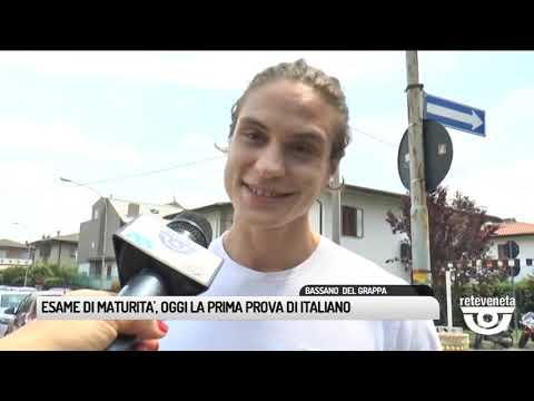 TG BASSANO (19/06/2019) - ESAME DI MATURITA', OGGI...