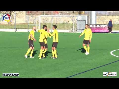 RESUM: Lliga Multisegur Assegurances, J10. Inter d'Escaldes - UE Santa Coloma (2-2)