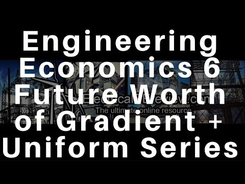 Electrical Power PE Exam - Engineering Economics - Find Future Worth of a Gradient