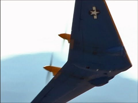 Restored Vintage Northrop N9MB Flying Wing---Rare Sight !