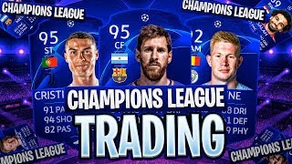 HOW TO TRADE WITH CHAMPIONS LEAGUE CARDS? FIFA 19 Ultimate Team