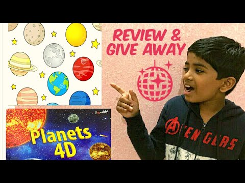 Planets 4D book review by Samit | Our First Give Away | Samit Videos