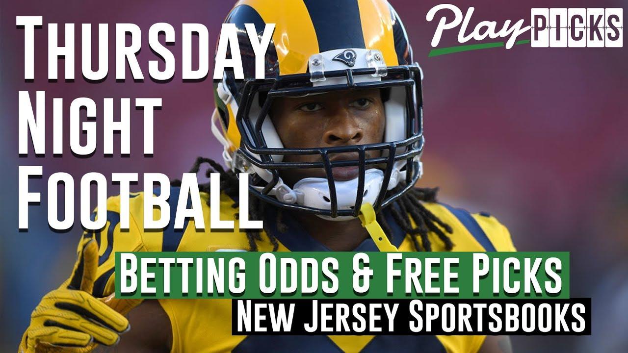 7371d748cc5 Thursday Night Football Betting Odds   Free Picks - New Jersey Sportsbooks