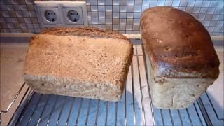 Настоящий домашний  вкусный и полезный  хлеб без дрожжей