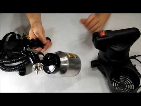 Электрический краскопульт SIGMA Маляр 6816011 HVLP