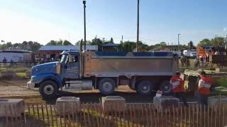 Millbrook Fair - Local Dump Truck Pulls - OTTPA 2016