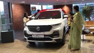 Mg Hector Delivery ! Anup & Arya !