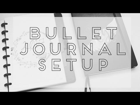Bullet Journal Setup: Leuchtturm1917 & Tul Discbound