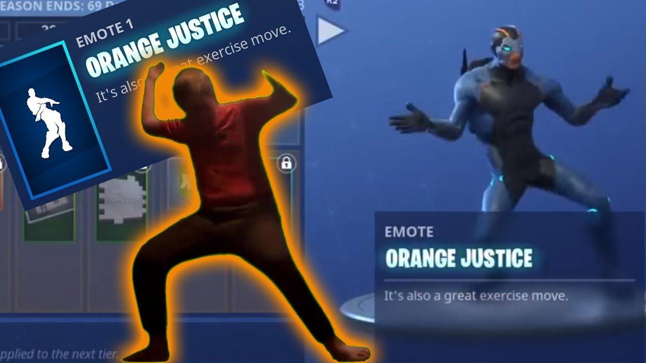 283b8668 They added Orange Shirt Kid to Fortnite - YouTube