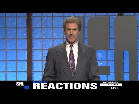 SNL 40th Anniversary Special  Celebrity Jeopardy! ~ REACTIONS