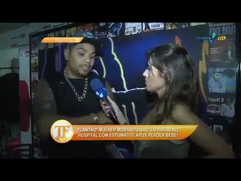 Mulher Moranguinho é Hospitalizada - TV Fama 01/04/2014