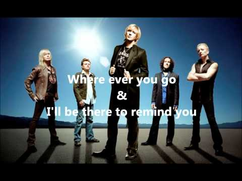 two steps behind - Def Leppard with lyrics