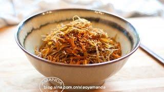 [Eng Sub]日式炒牛蒡 Stir-fried Burdock Recipe