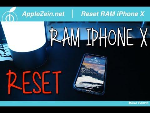 controllare ram iphone X