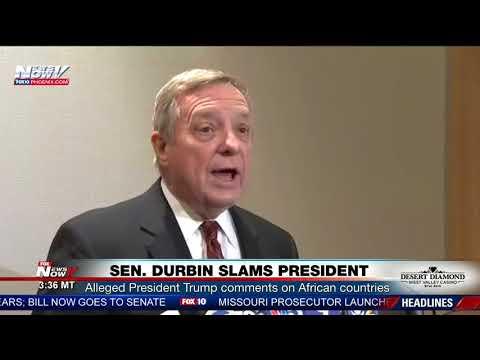 SLAMS TRUMP: Senator Dick Durbin Goes Off On President Trump (FNN)
