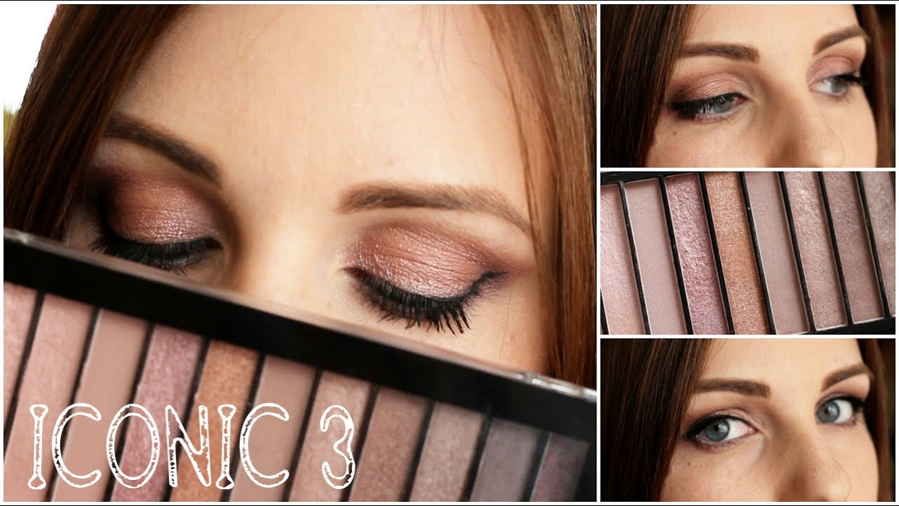 Makeup revolution iconic 2 tutorial