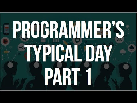 Programmer\u0027s Typical Day (Agile) - Part 1 - YouTube