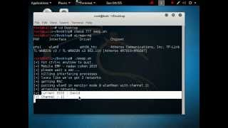 Kali Linux - Deauthenticate every wireless device around using MobileEMP