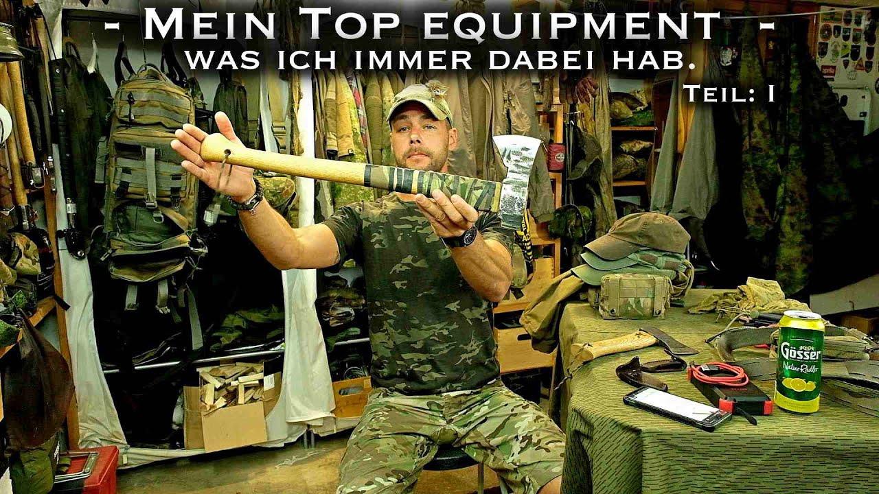 """Top Equipment """"Langzeiterfahrung"""" für Bushcraft und Outdoor - Teil1 -"""