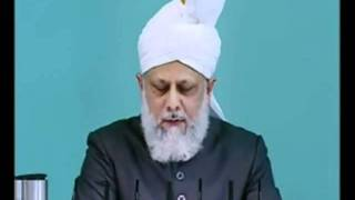 Urdu Friday Sermon 21st May 2010 - Islam Ahmadiyya