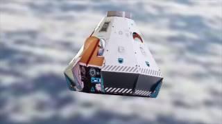 Makedo SPACE POD Launch