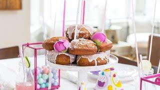 Kids Birthday Party Ideas, Enter The Doughnut Cake!