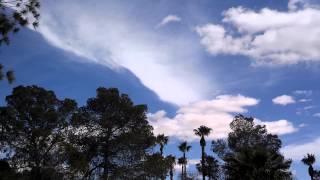 Cloud-Seeding over Tucson Az! 02/04/2014 (Chemtrails / Geo-Engineering)