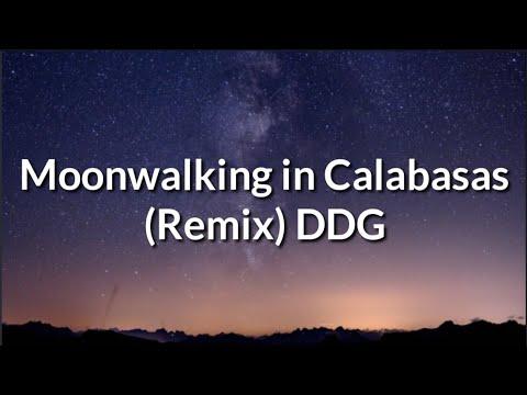DDG – Moonwalking In Calabasas (Remix) ft. Blue Face (Lyrics)