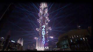 New Year's Eve 2019 with Burj Khalifa- Full Highlights