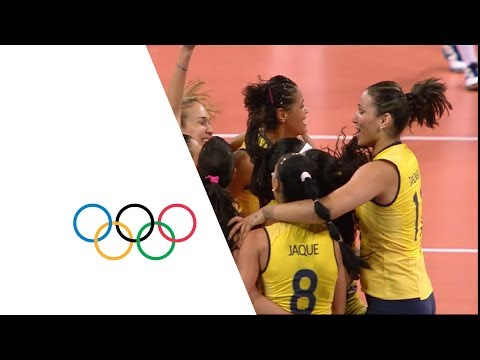 Brazil vs Russian Fed. - Women\'s Volleyball Quarterfinal | London 2012