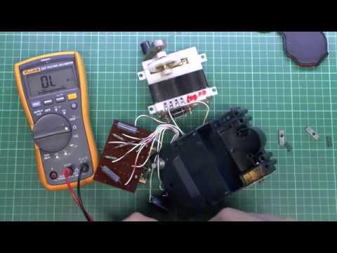 Fuso Megohm / Ohm Meter Hand Cranked