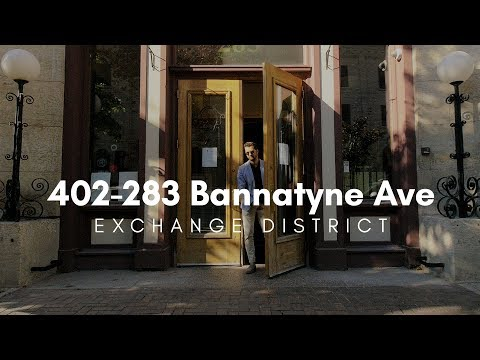 SOLD // 402-283 Bannatyne // Bobby L Wall // Winnipeg Real Estate