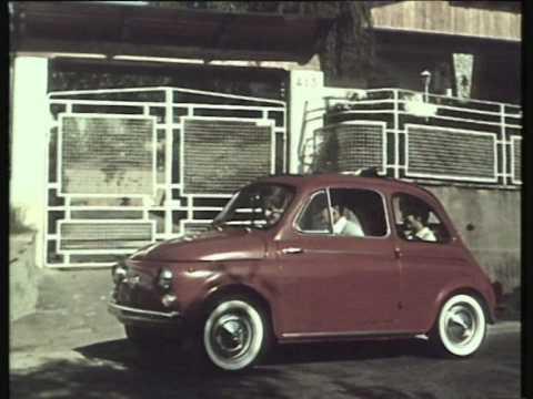 1957 Fiat 500 Historical Repertoire Advertisement Youtube