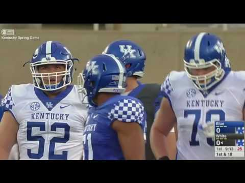 Kentucky Football Spring Game 2017