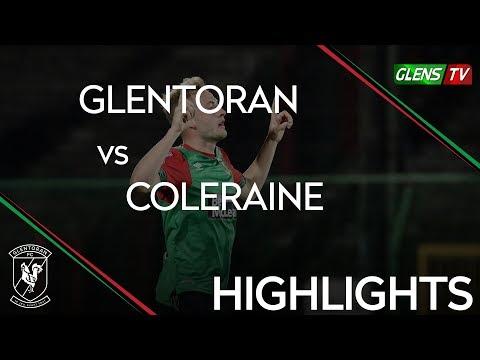 Glentoran vs Coleraine - Bet McLean League Cup 30th October 2018