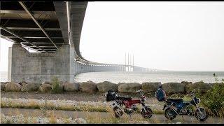 50cc Skyteam Dax roadtrip The Netherlands - Sweden