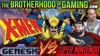 X-Men // SEGA vs SNES // The Brotherhood of Gaming